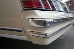 78 79 80 MONTE CARLO CHROME BUMPER TRIM FRONT+BACK
